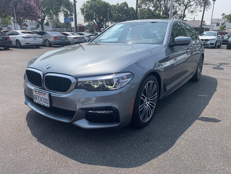 2018 BMW 5 Series 530i 530i Sedan Intercooled Turbo Premium Unleaded I-4 2.0 L/122 [0]