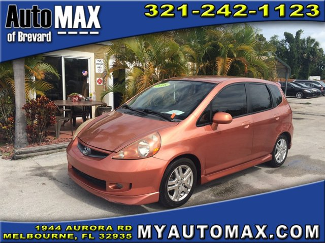 2008 Honda Fit 4dr Car