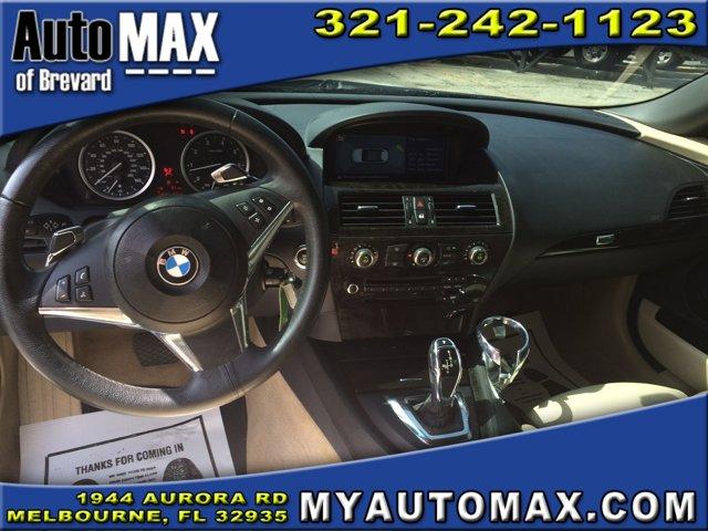 2008 BMW 6 Series Convertible