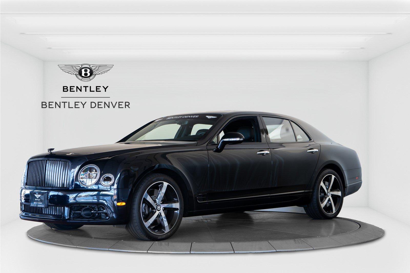 2018 Bentley Mulsanne Mulliner Design Series