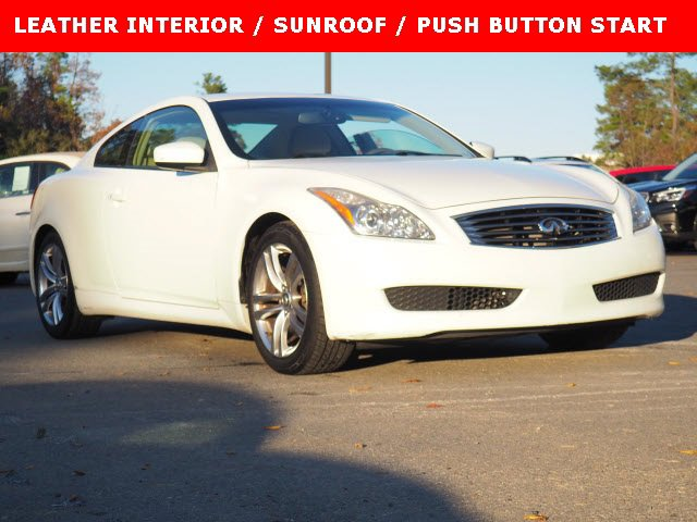 2008 INFINITI G37 Coupe LEATHER INTERIOR