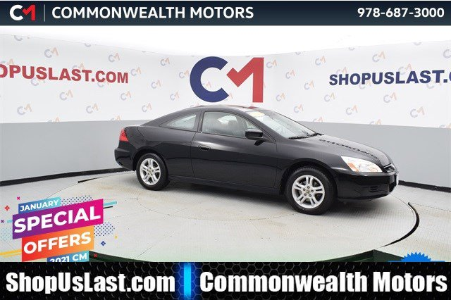2007 Honda Accord Cpe EX-L