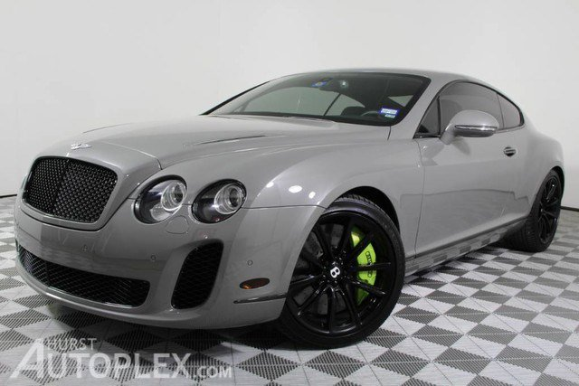 2010 Bentley Continental Supersports Supersports