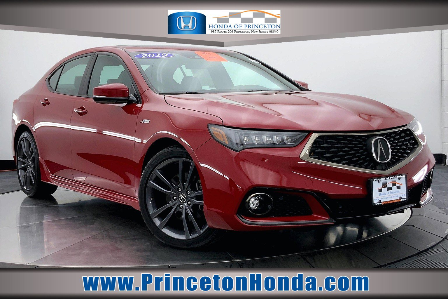 2019 Acura TLX 2.4L Technology Pkg with A-Spec Pkg
