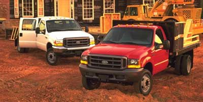 1999 Ford Super Duty F-550 Reg Cab 165 WB XL