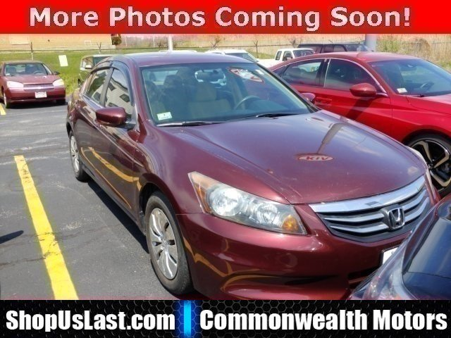 2012 Honda Accord Sdn LX