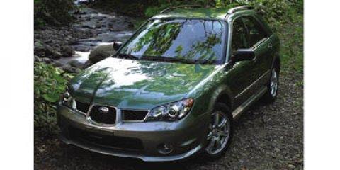2006 Subaru Impreza Wagon Outback Sport Sp Edition