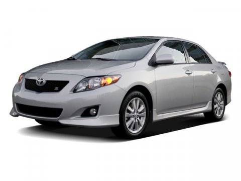 2009 Toyota Corolla 4DR SDN S AT