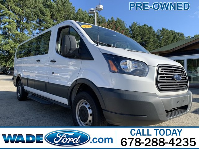 2018 Ford Transit Passenger 350 XL Low Roof LWB RWD with 60/40 Passenger-Side Doors