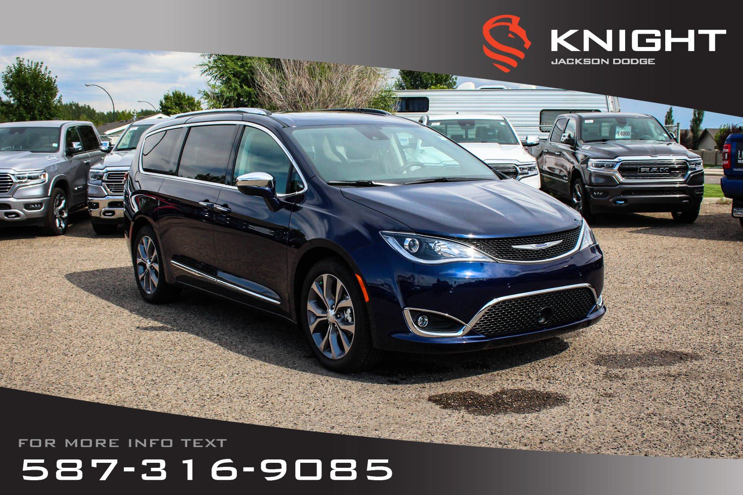 New 2019 Chrysler Pacifica Limited | DVD | 360 Camera