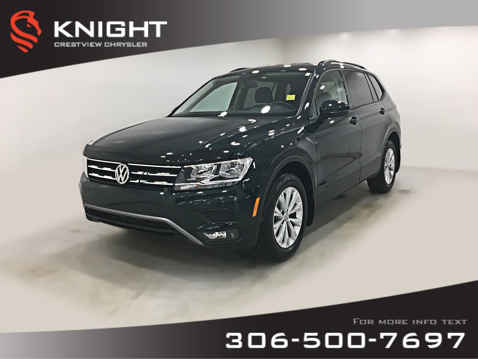 Certified Pre-Owned 2018 Volkswagen Tiguan Comfortline AWD | Remote Start | Back-Up Cam| Heated Seats