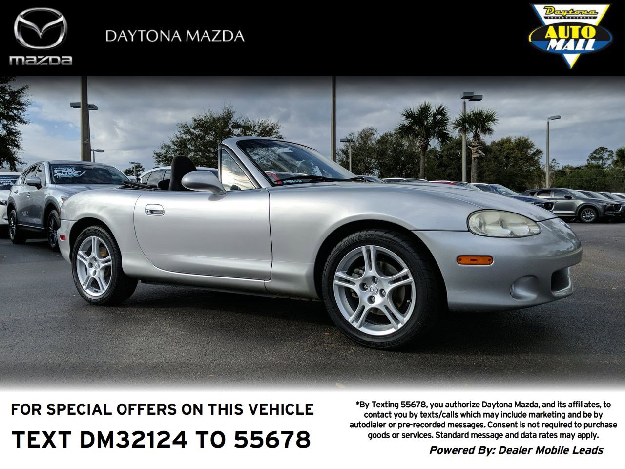 Pre-Owned 2004 Mazda MX-5 Miata Cloth
