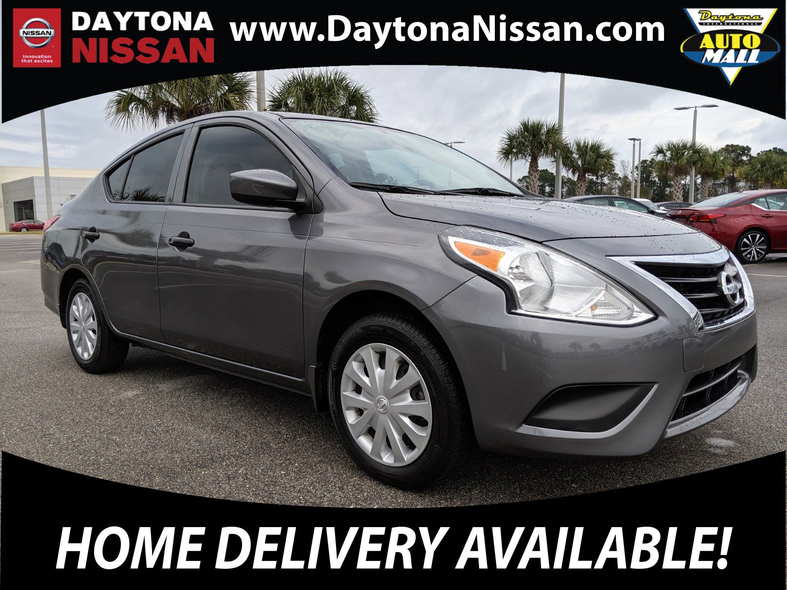 Pre-Owned 2017 Nissan Versa Sedan 1.6 SV