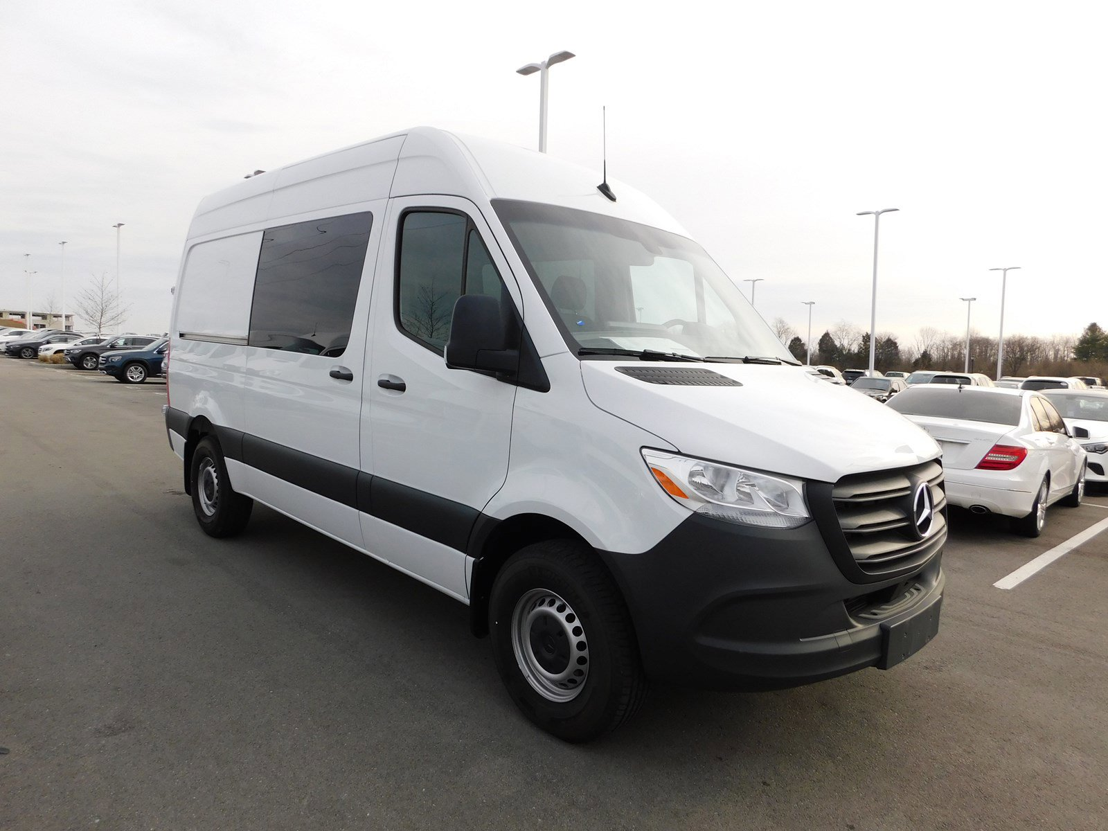 New 2019 Mercedes-Benz Sprinter Crew Van 2500 144 WB HR