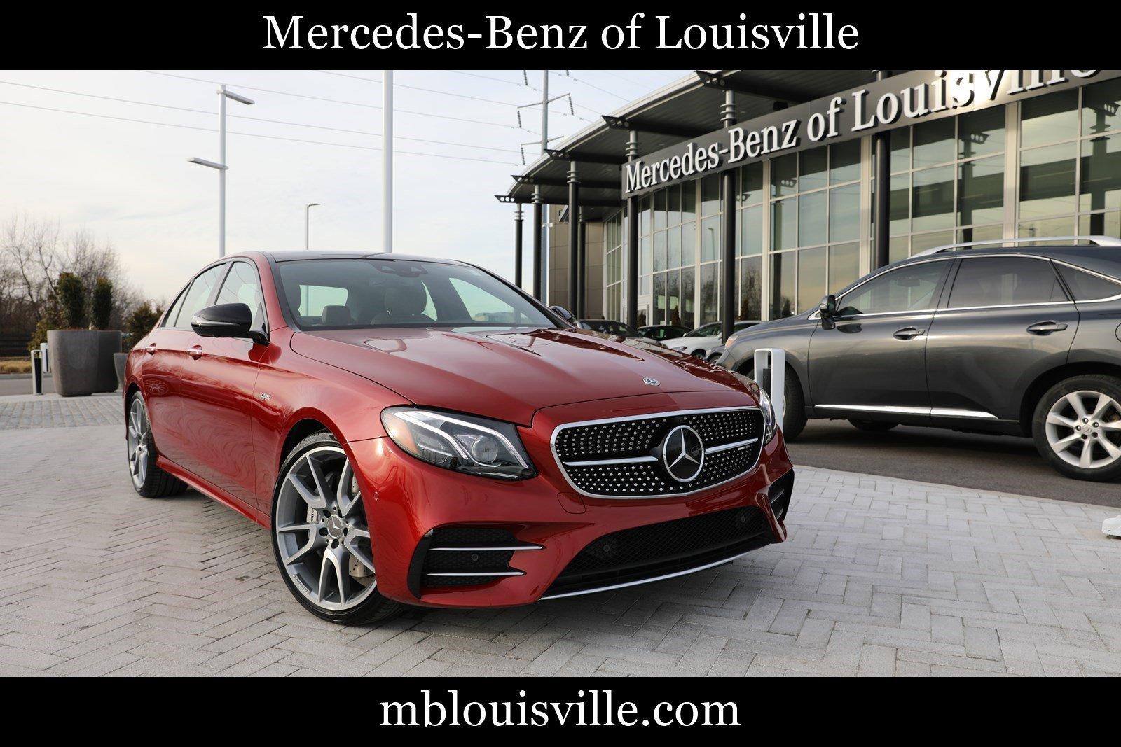 New 2020 Mercedes-Benz E-Class AMG® E 53 4MATIC® Sedan