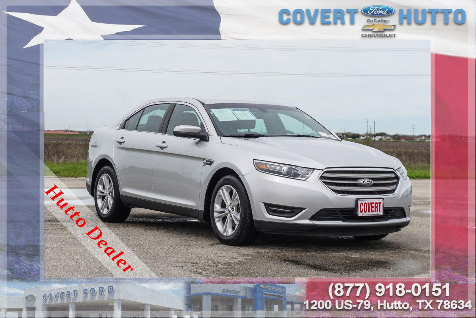 Pre-Owned 2018 Ford Taurus SEL