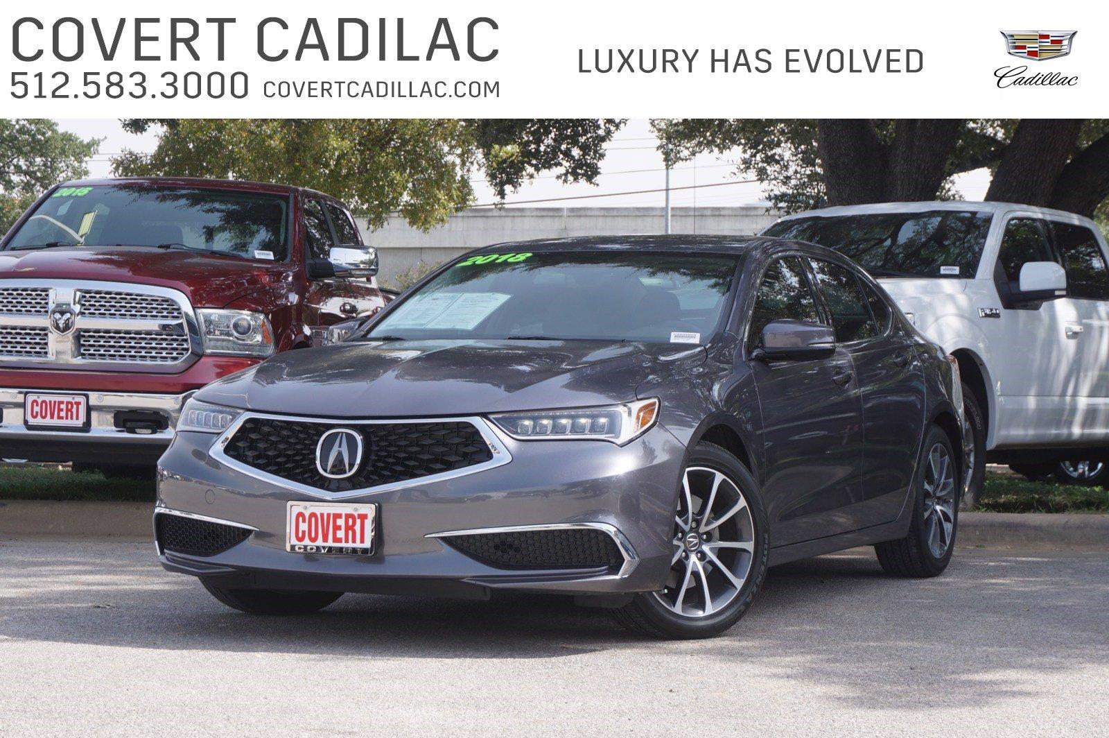 2018 Acura TLX SDN FWD V6