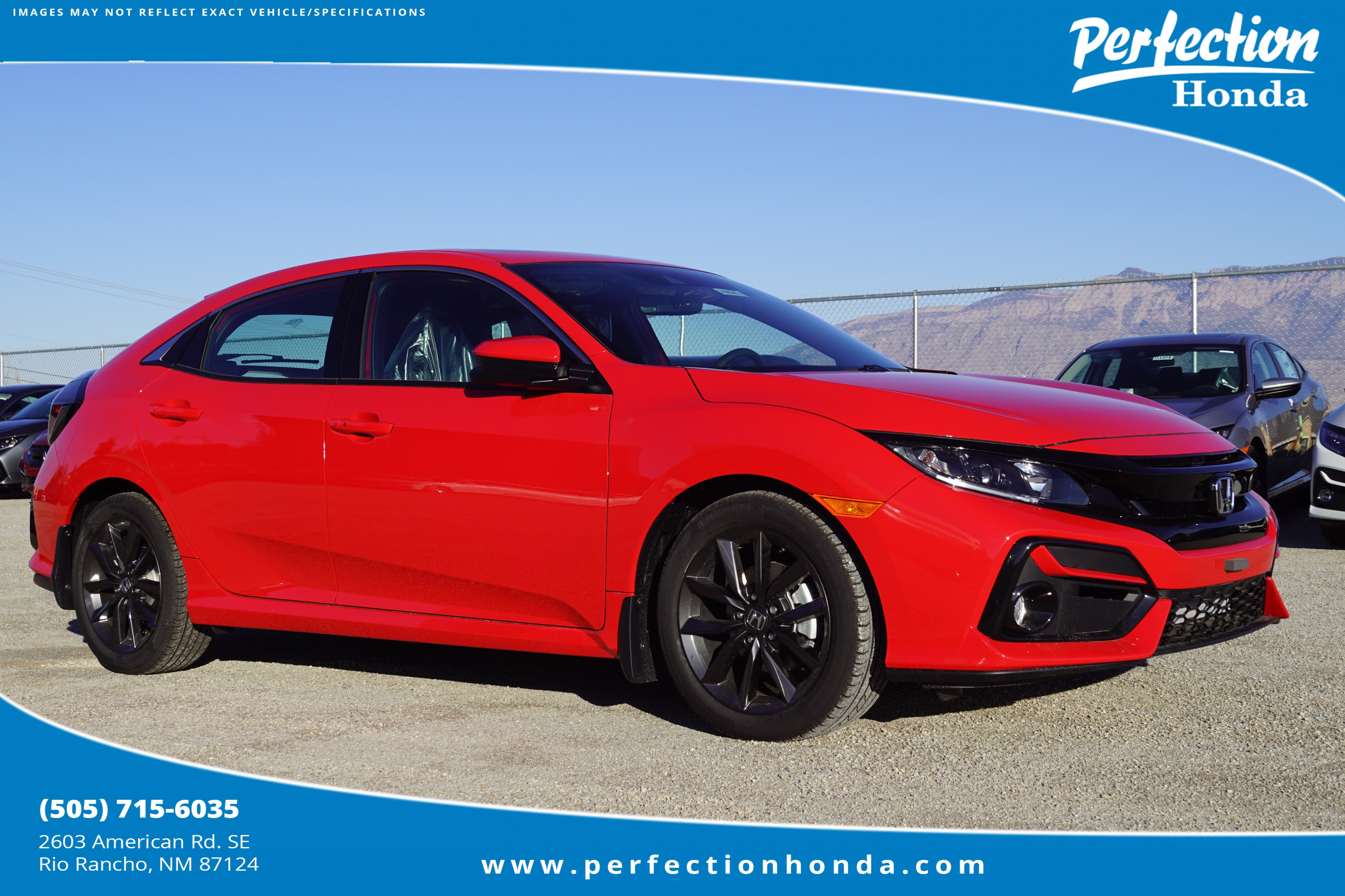 New 2020 Honda Civic Hatchback EX-L