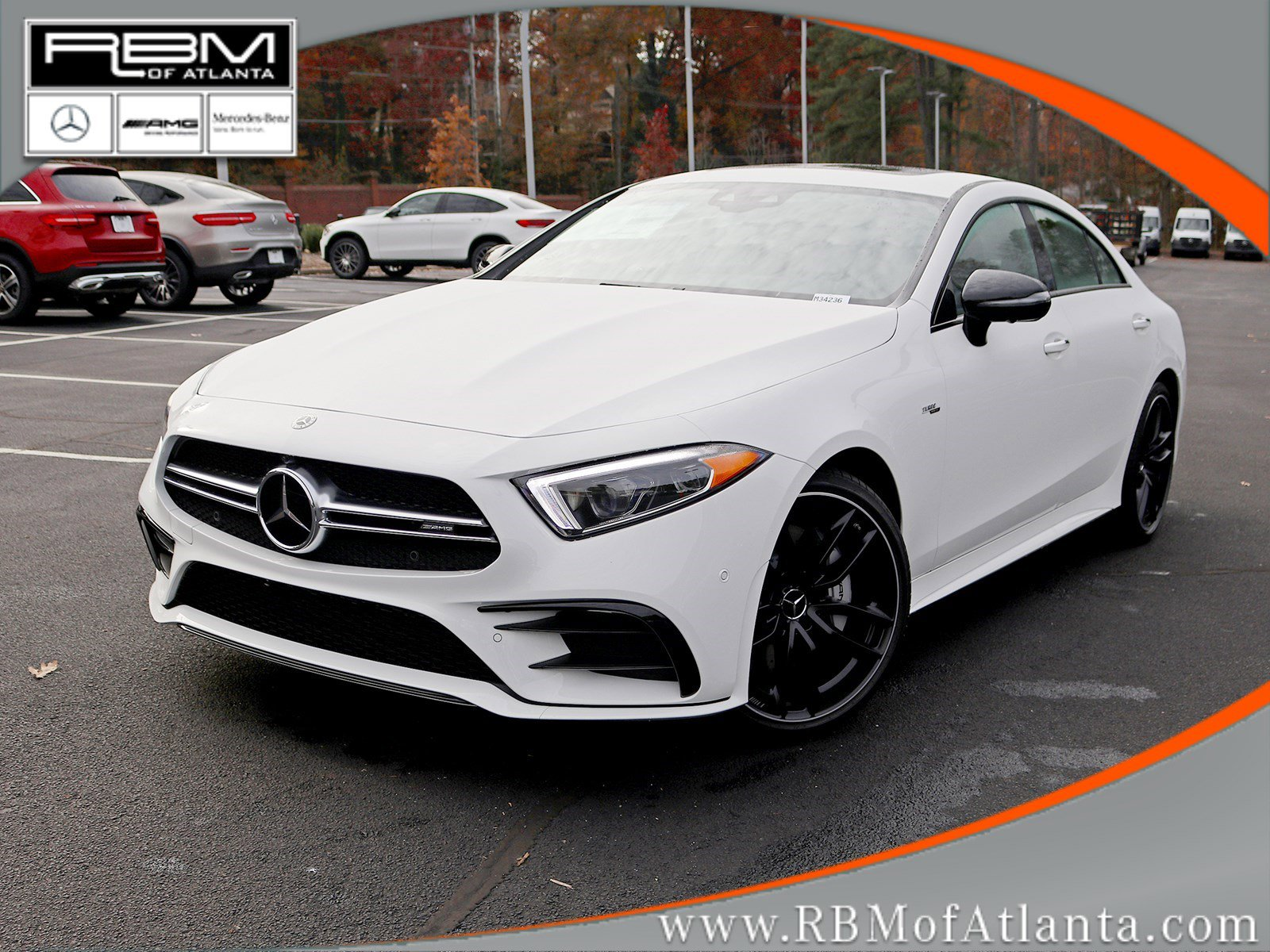 New 2020 Mercedes-AMG CLS AMG CLS 53 Coupe