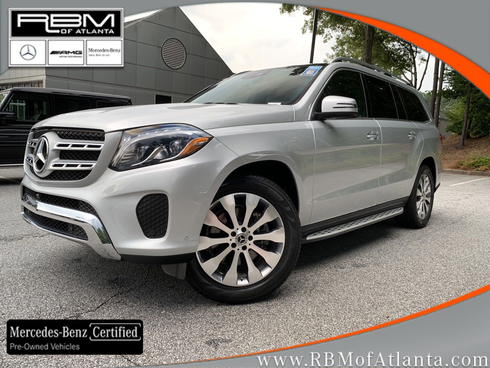 Certified Pre-Owned 2019 Mercedes-Benz GLS GLS 450 4MATIC® SUV