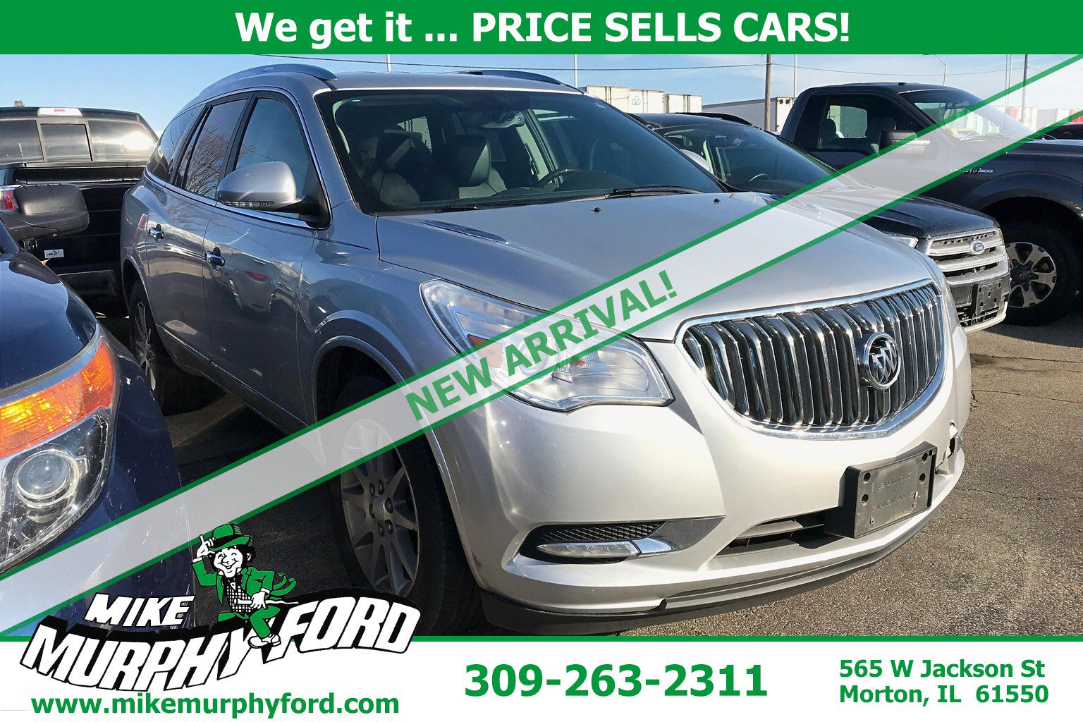 Pre-Owned 2013 Buick Enclave FWD 4dr Leather