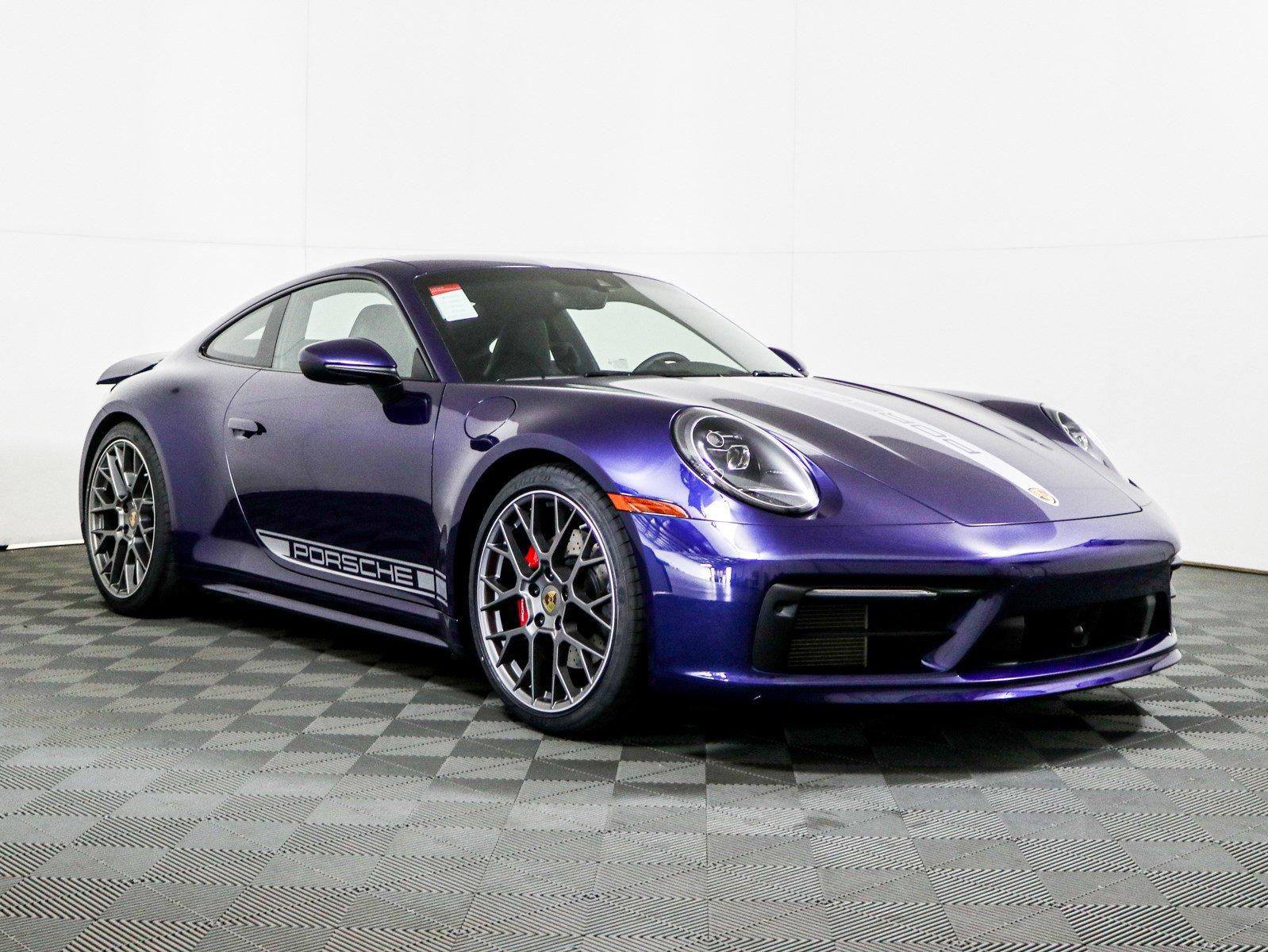 New 2020 Porsche 911 Carrera S