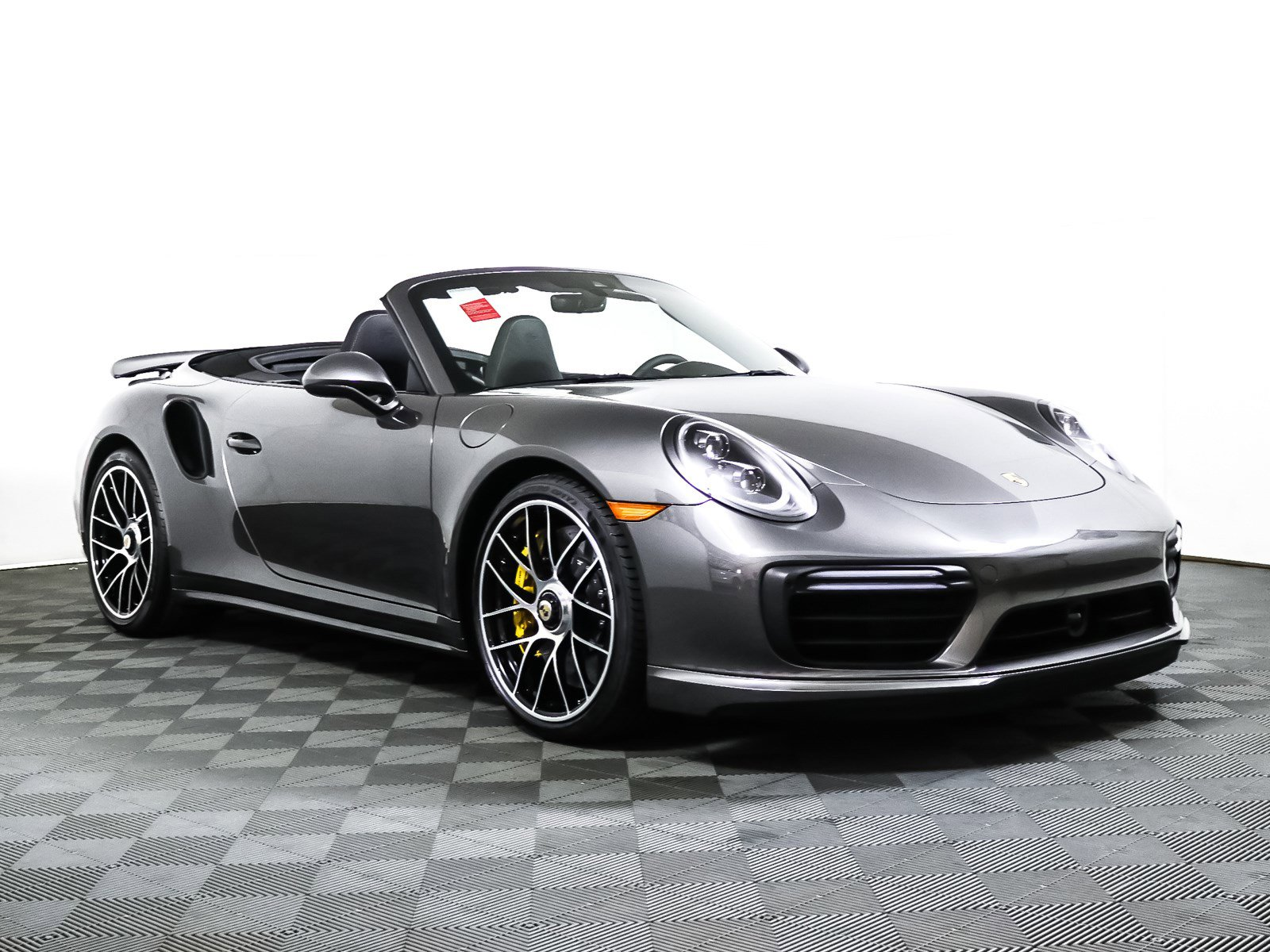 Pre-Owned 2019 Porsche 911 Turbo S Cabriolet