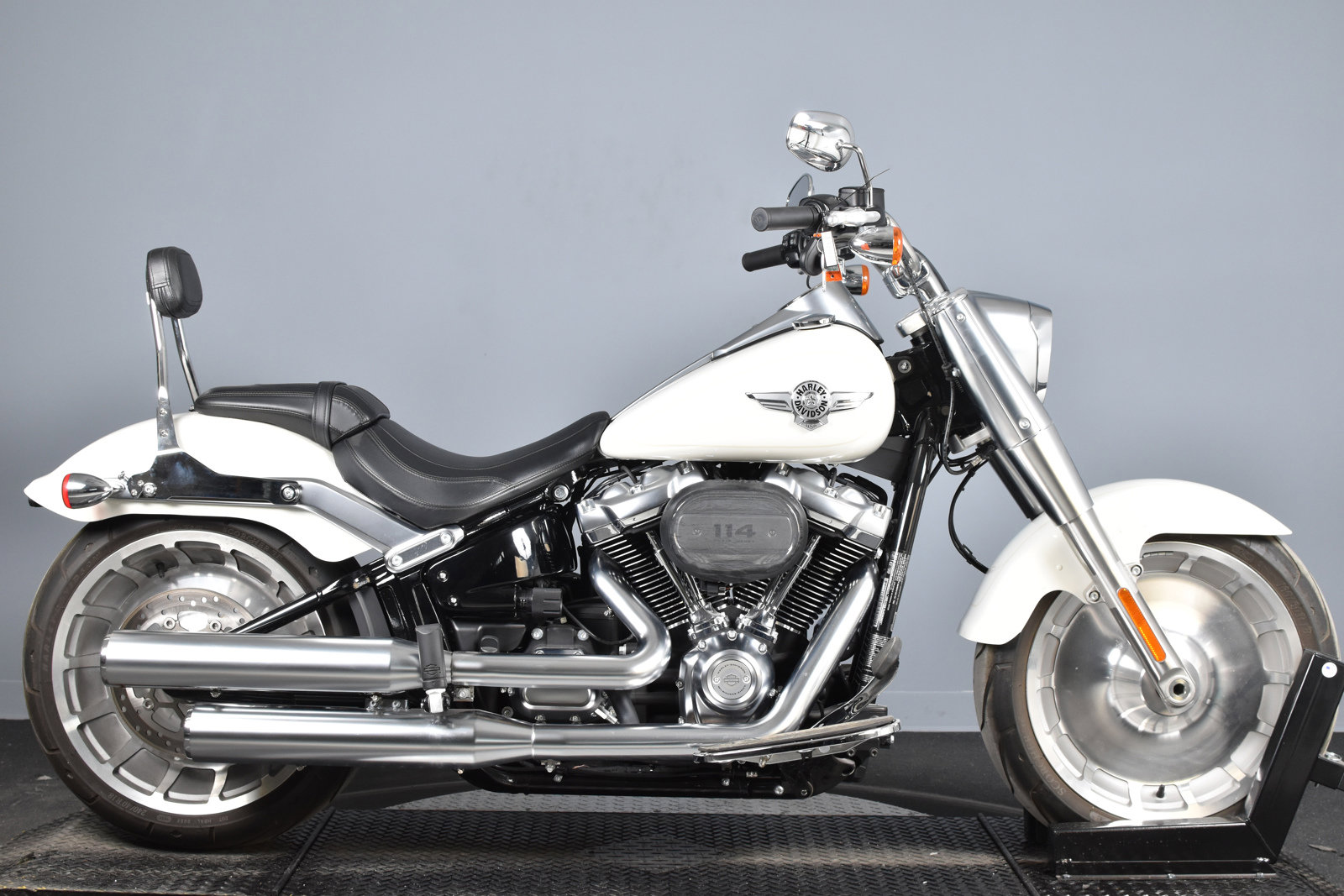 Pre-Owned 2018 Harley-Davidson Softail Fat Boy 114 FLFBS