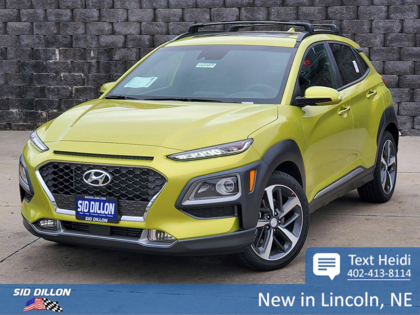 New 2020 Hyundai Kona Ultimate