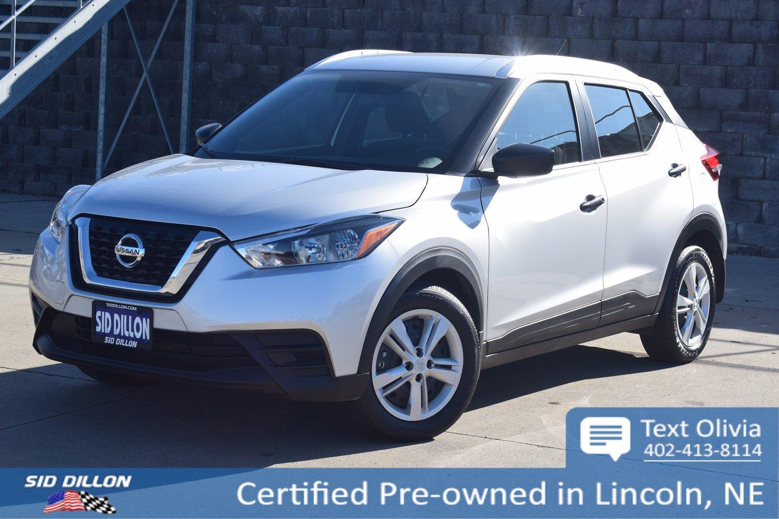 Certified Pre-Owned 2018 Nissan Kicks S