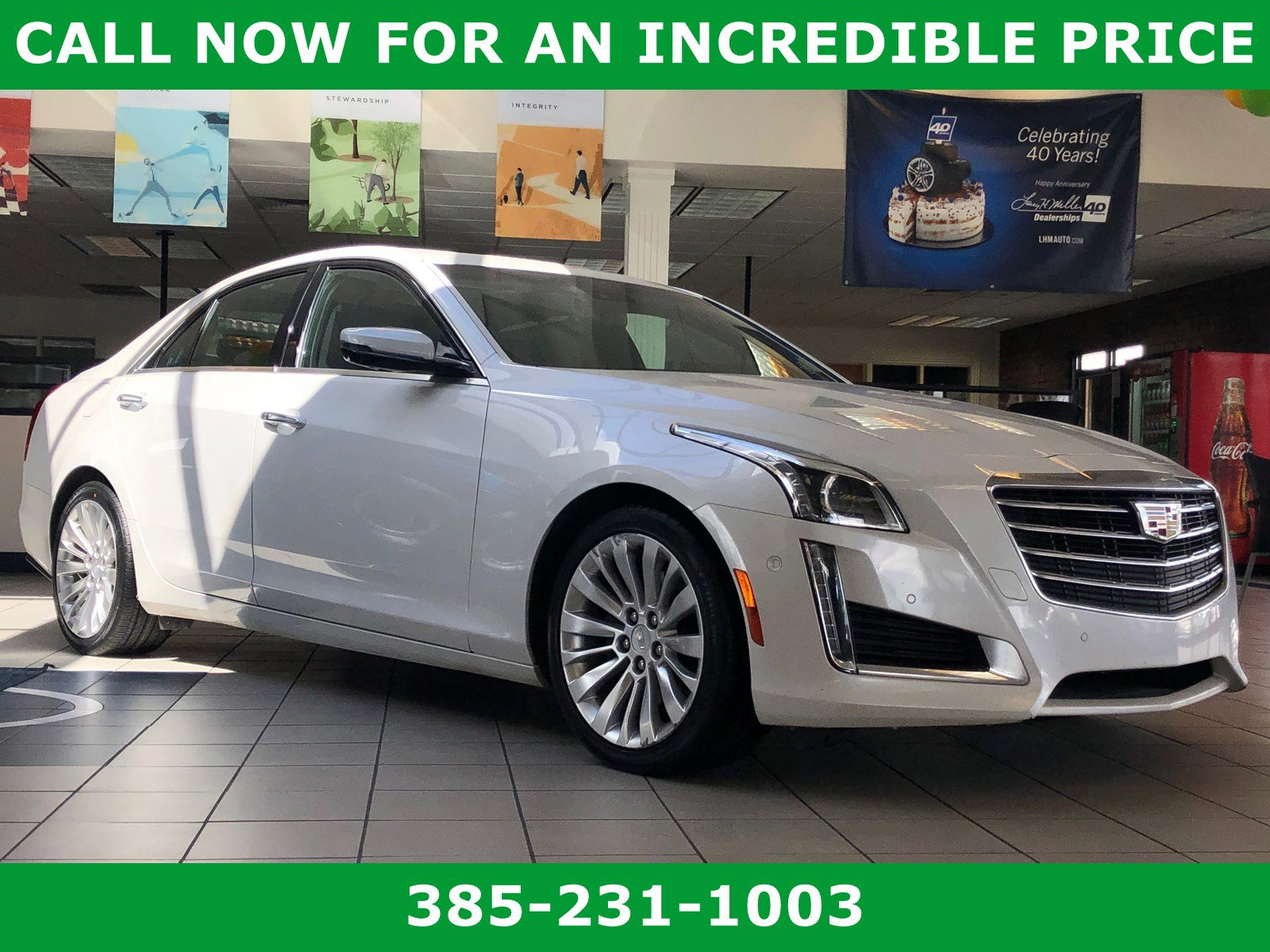 Pre-Owned 2017 Cadillac CTS Premium Luxury RWD