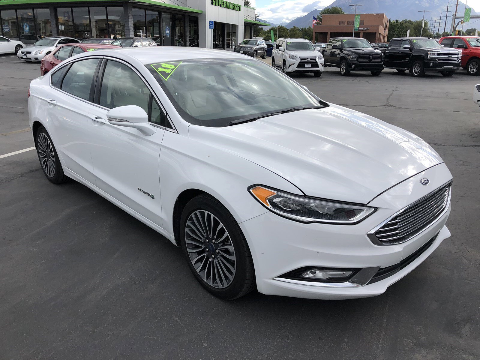 Pre-Owned 2018 Ford Fusion Hybrid