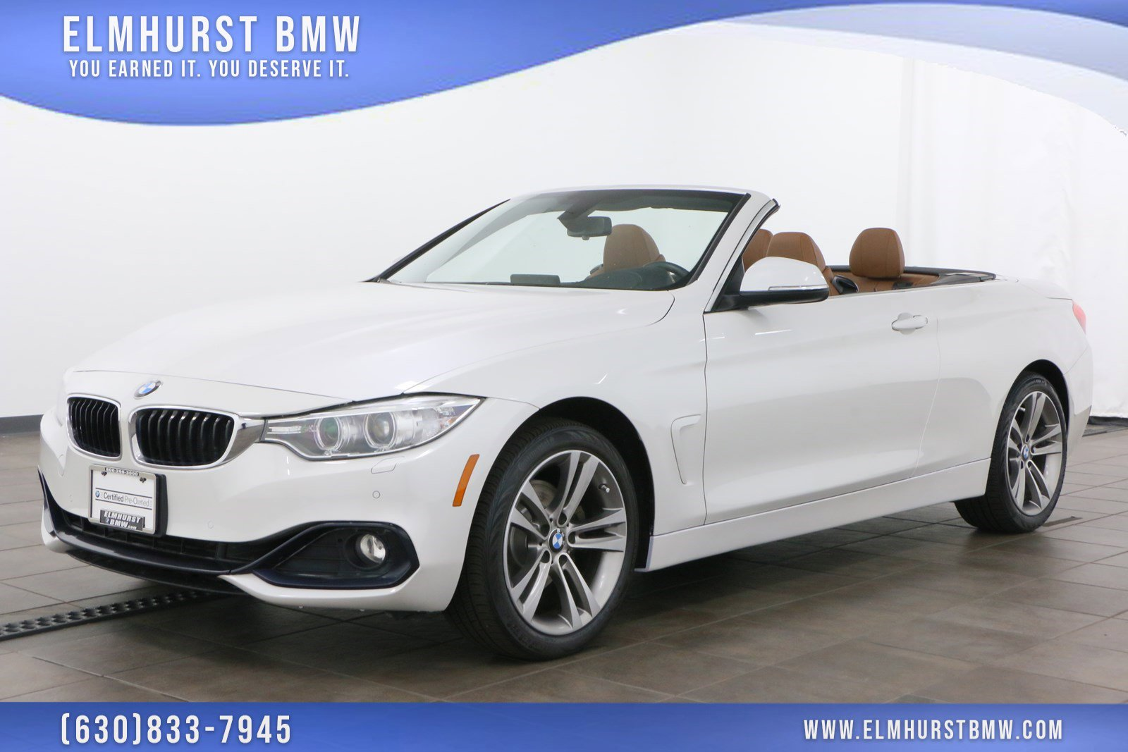 Certified Pre-Owned 2017 BMW 4 Series 430i xDrive Convertible