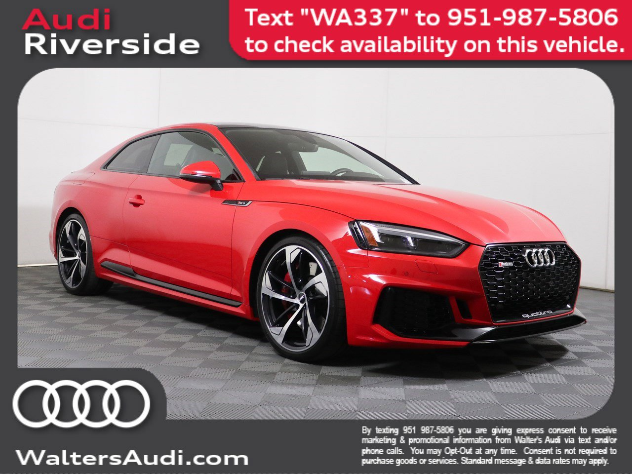 Pre-Owned 2018 Audi RS 5 Coupe
