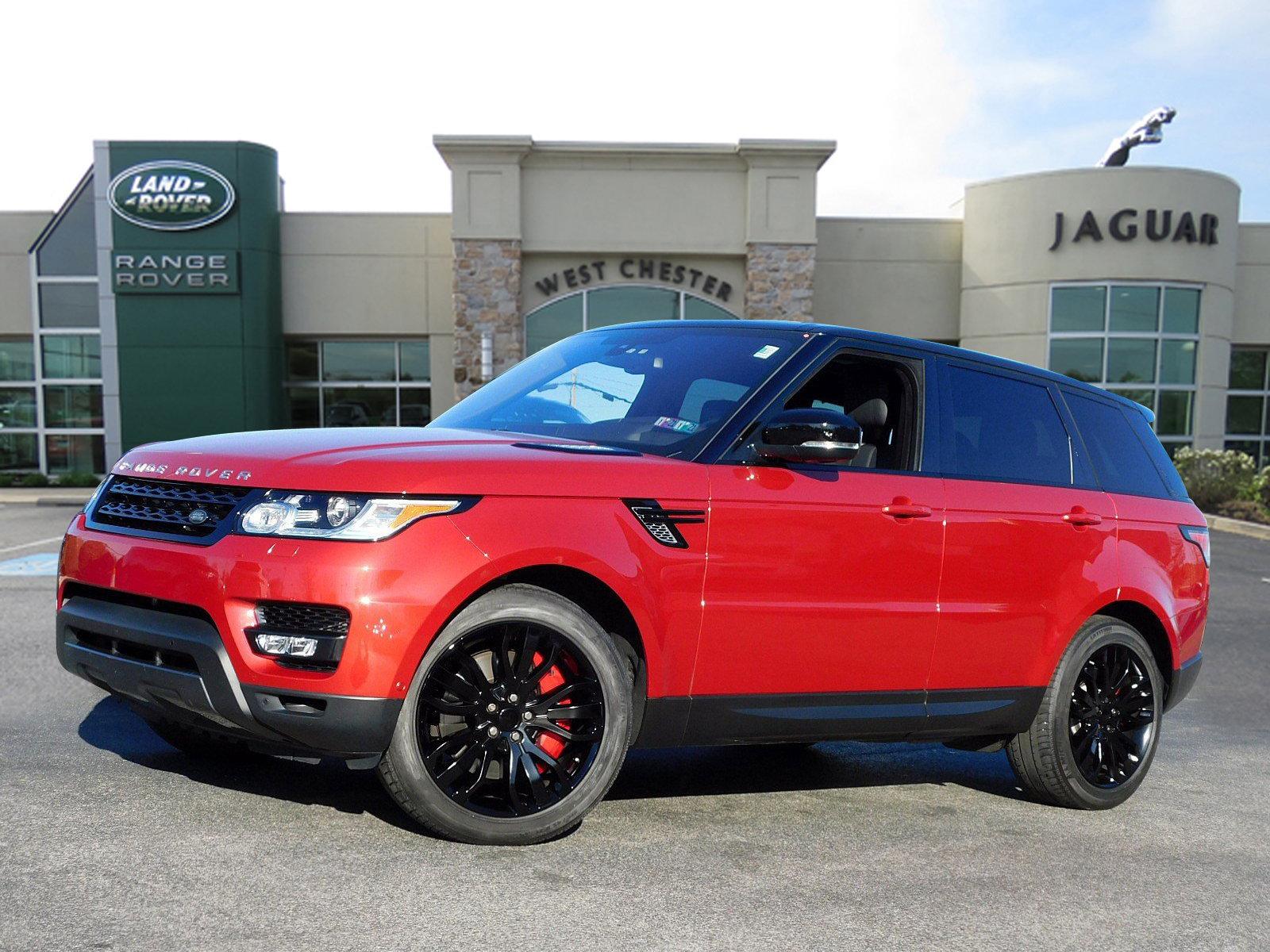 Certified Pre-Owned 2016 Land Rover Range Rover Sport V8