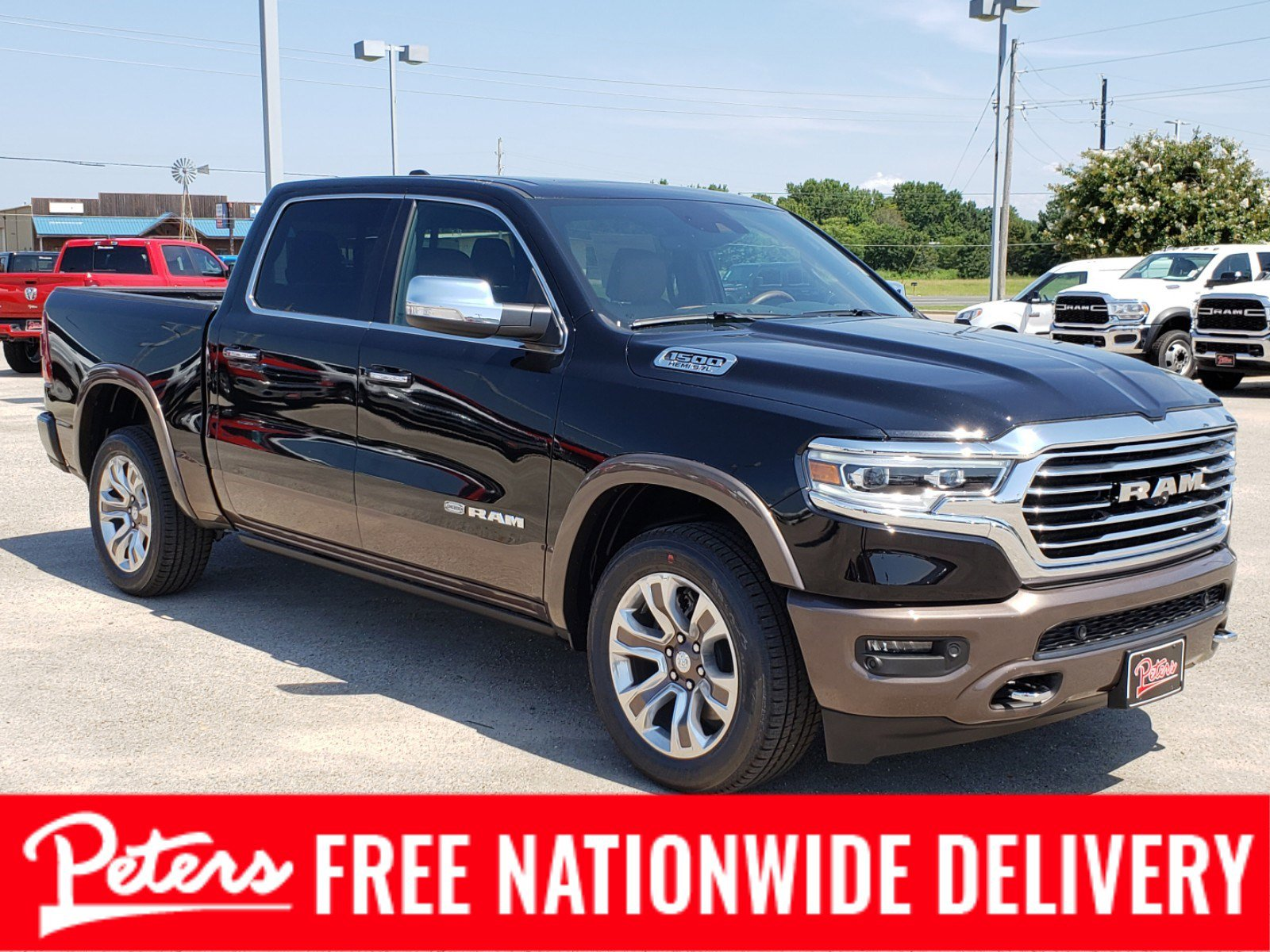 New Ram 1500 Longhorn For Sale In Longview Tx Peters Chevrolet Buick Chrysler Jeep Dodge Ram Fiat
