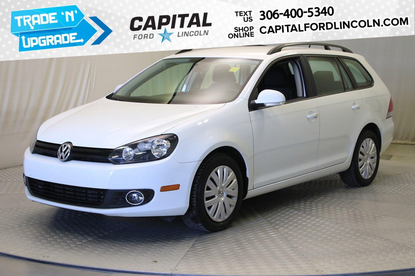 Pre-Owned 2014 Volkswagen Golf Wagon Trendline | Diesel