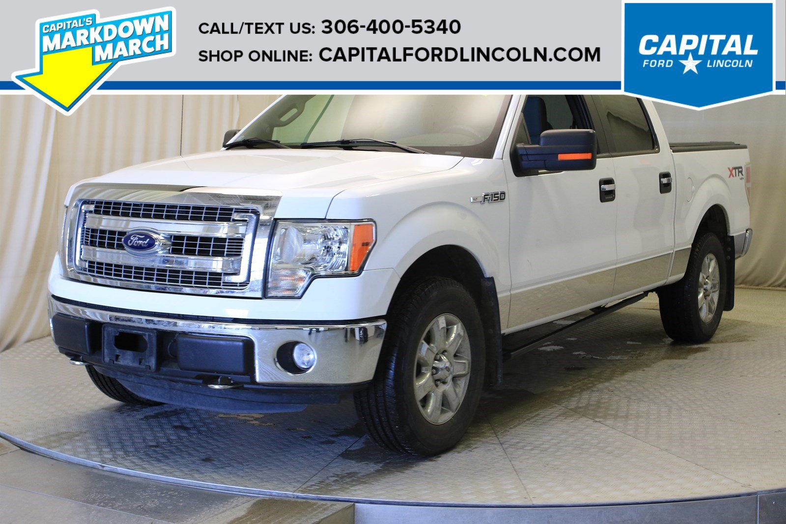 Pre-Owned 2014 Ford F-150 SuperCrew
