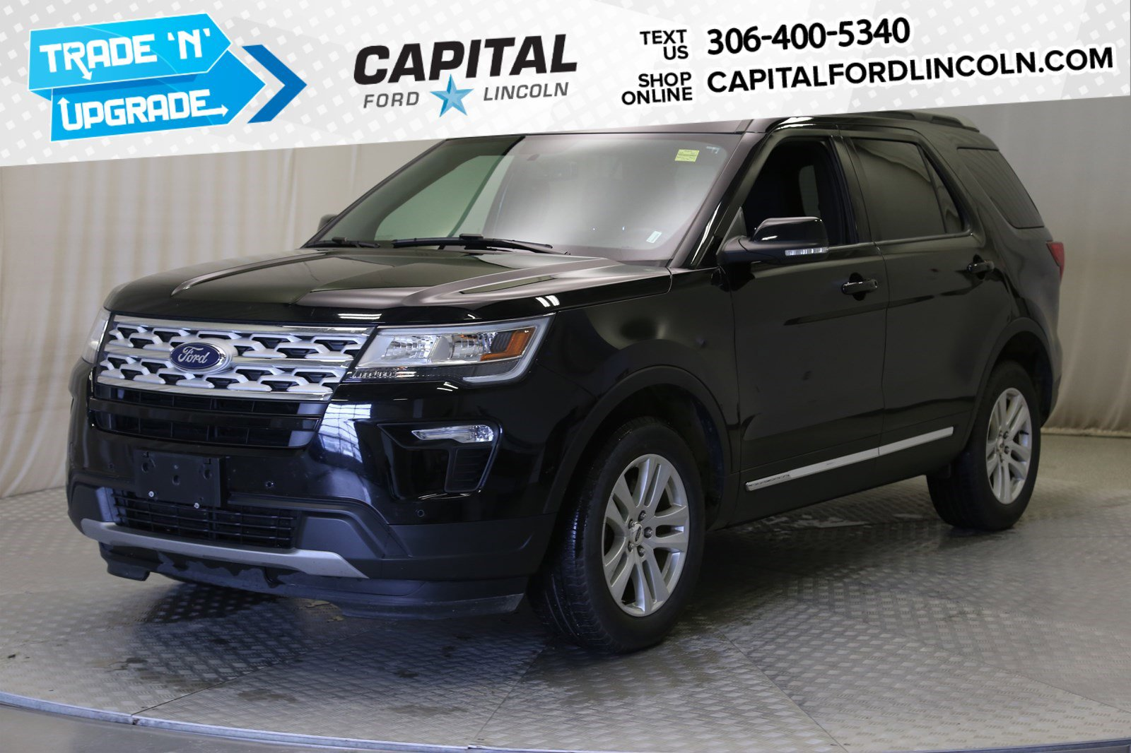 Pre-Owned 2018 Ford Explorer XLT 4WD