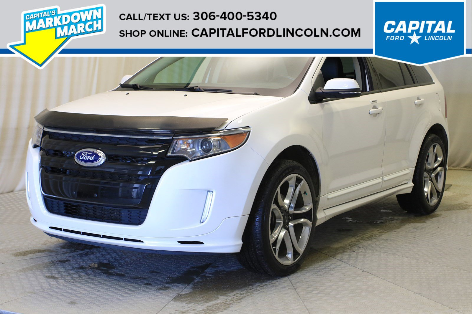 Pre-Owned 2014 Ford Edge Sport AWD
