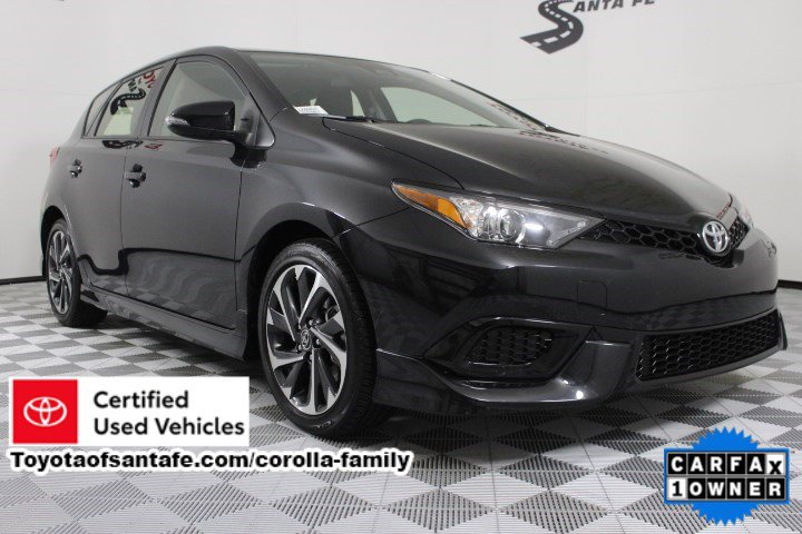 Certified Pre-Owned 2018 Toyota Corolla iM Base