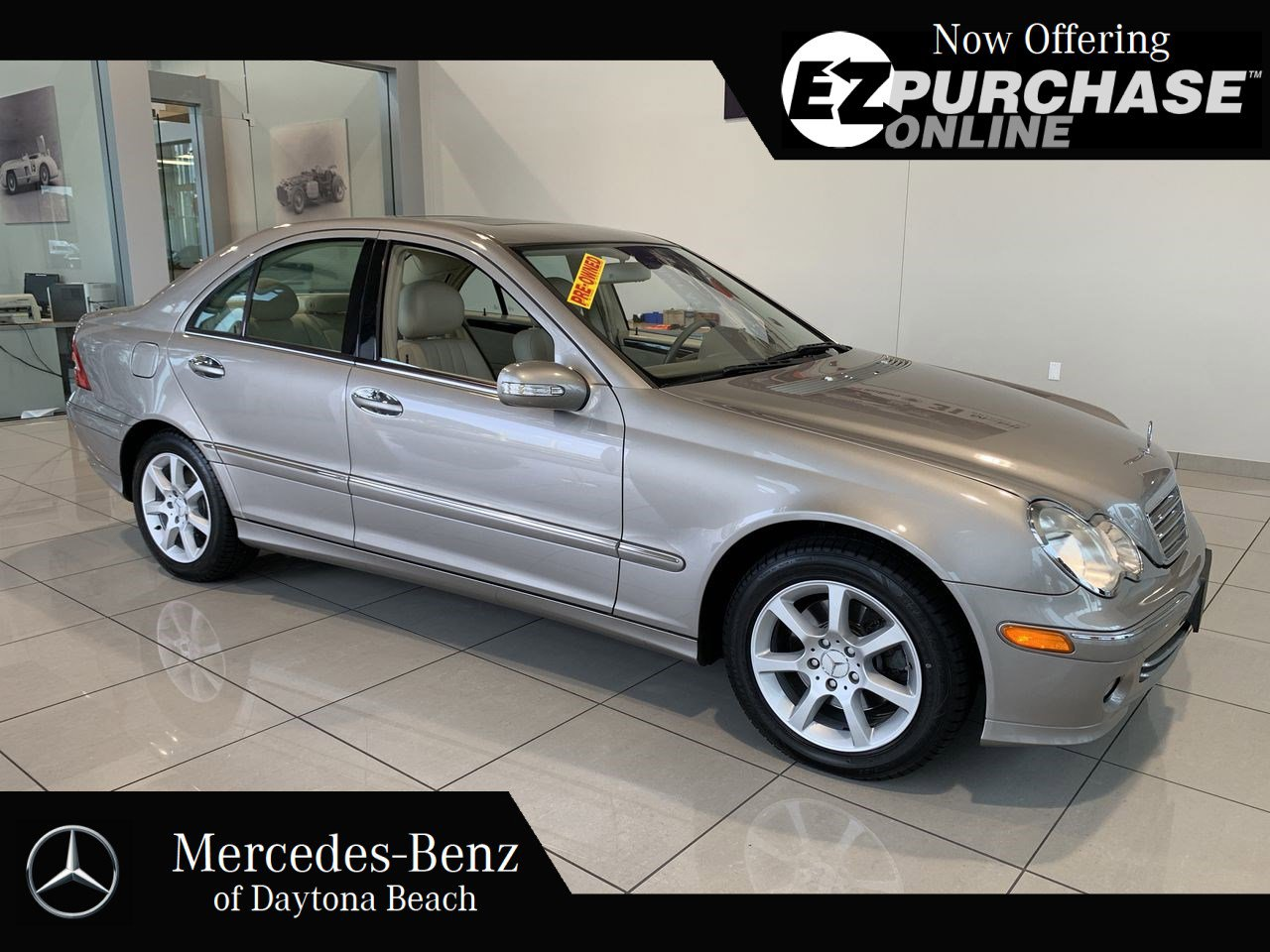 Pre-Owned 2007 Mercedes-Benz C-Class C280 Luxury 4MATIC®