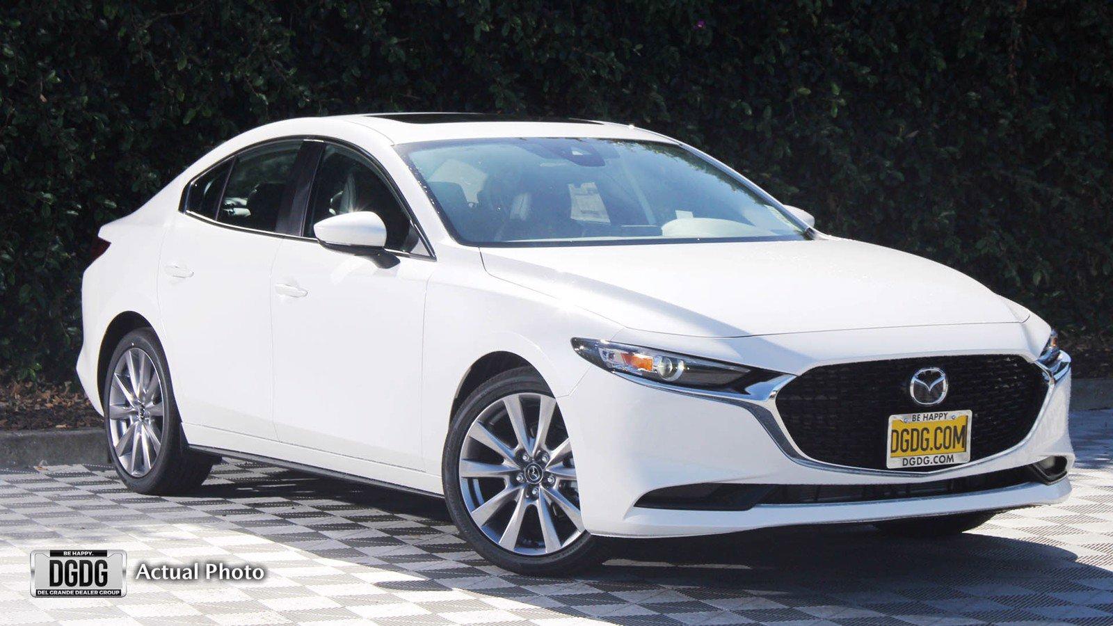 New 2021 Mazda3 Sedan Preferred
