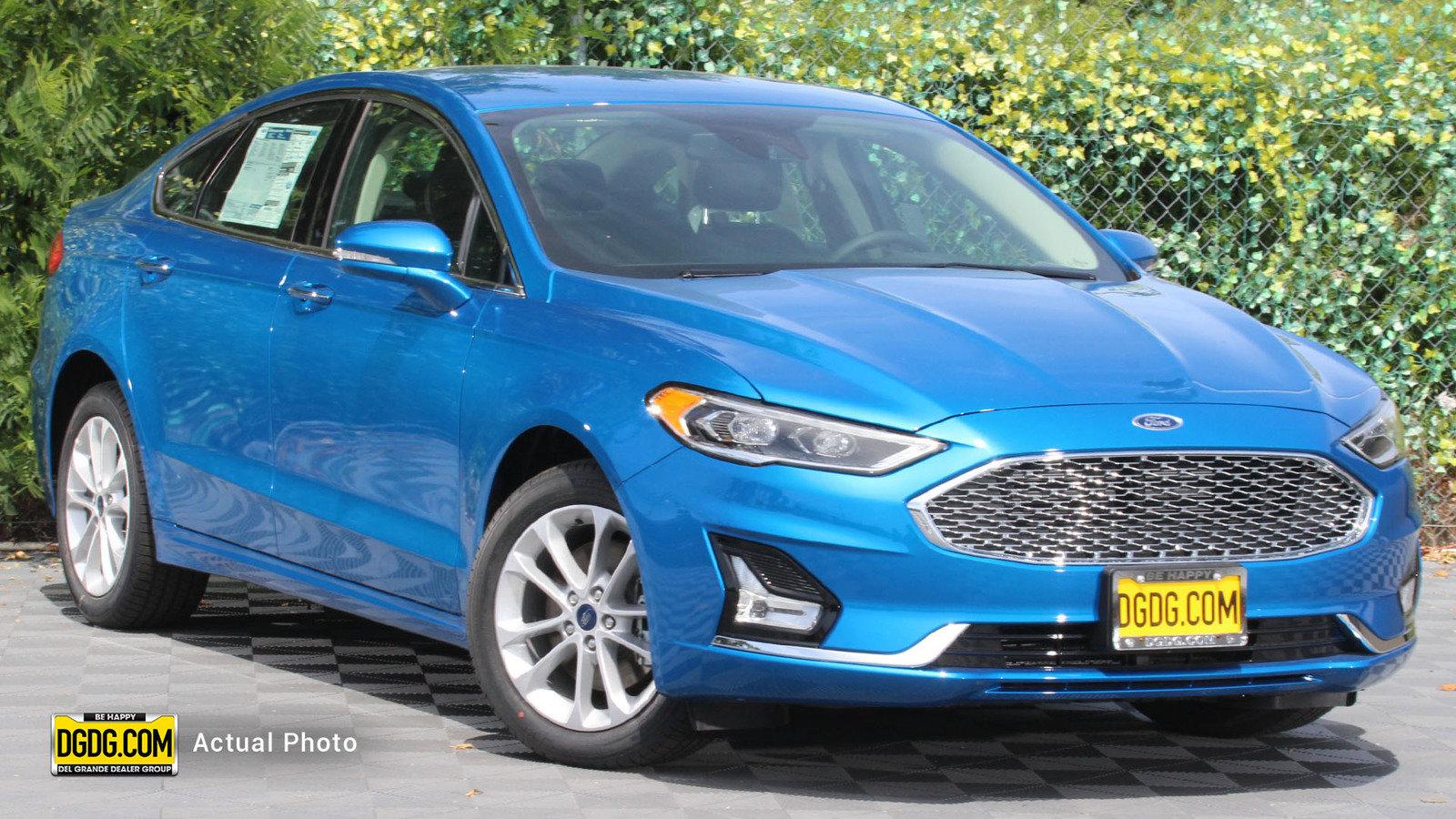 New 2020 Ford Fusion Energi Titanium