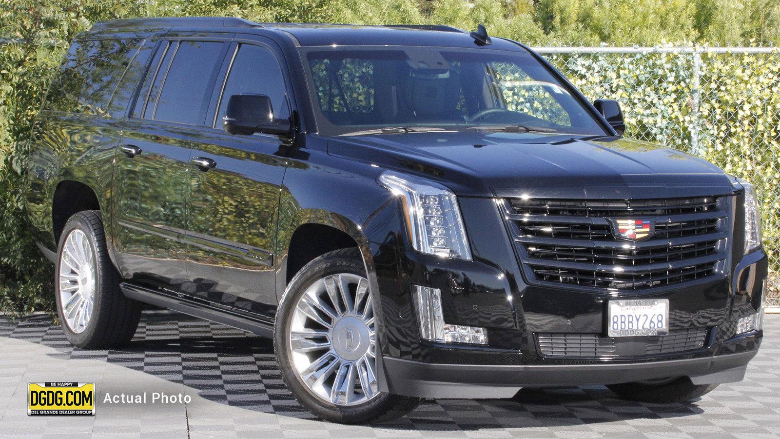 Pre-Owned 2017 Cadillac Escalade ESV Platinum Edition