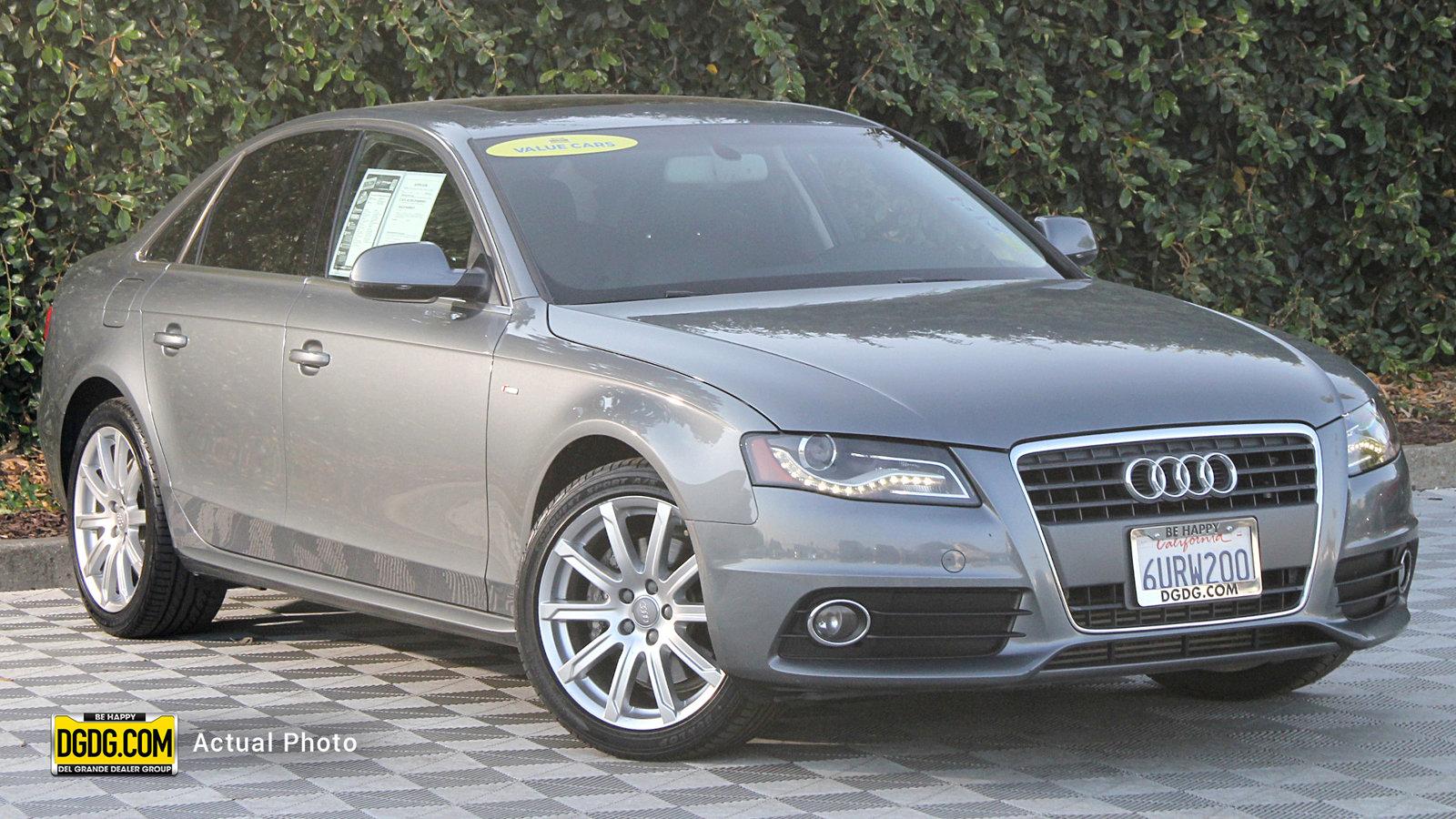 Pre-Owned 2012 Audi A4 2.0T Premium Plus