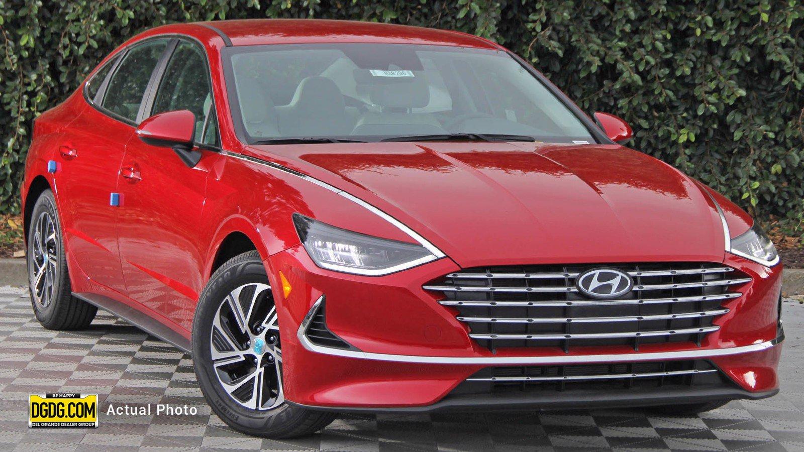 New 2020 Hyundai Sonata Hybrid Blue