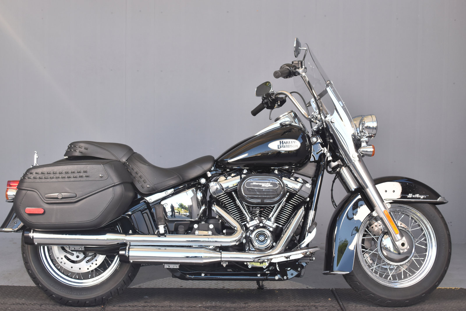Pre-Owned 2020 Harley-Davidson Softail Heritage Classic FLHC