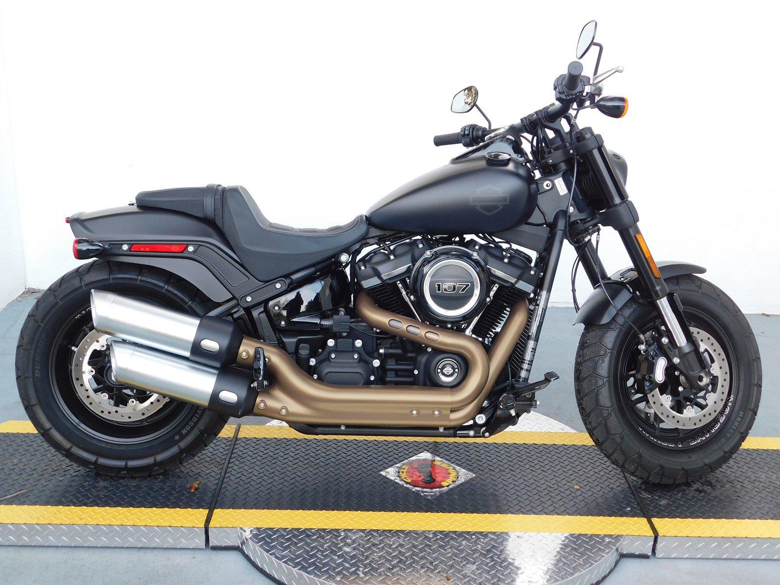 Pre-Owned 2018 Harley-Davidson Softail Fat Bob FXFB