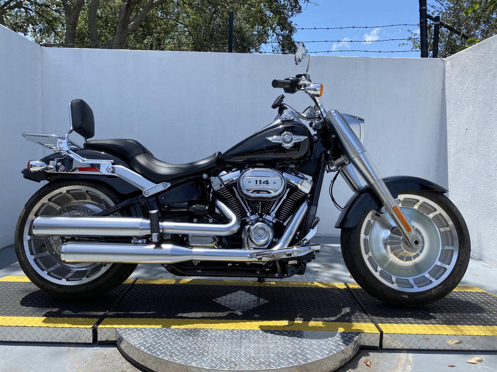 Pre-Owned 2020 Harley-Davidson Softail Fat Boy 114 FLFBS